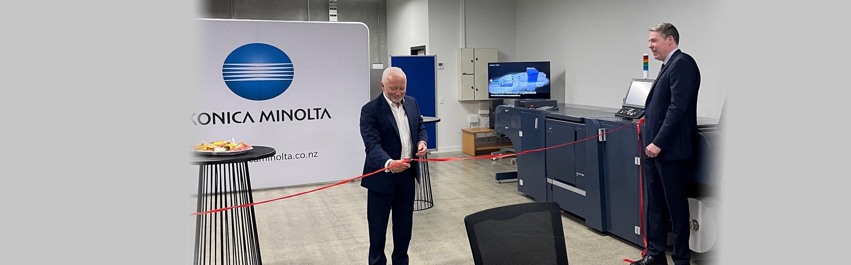 Konica Minolta New Zealand opens new showroom in Auckland