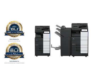 Konica Minolta wins 12 BLI Awards for its bizhub i-Series, including 'A3 Line of the Year'