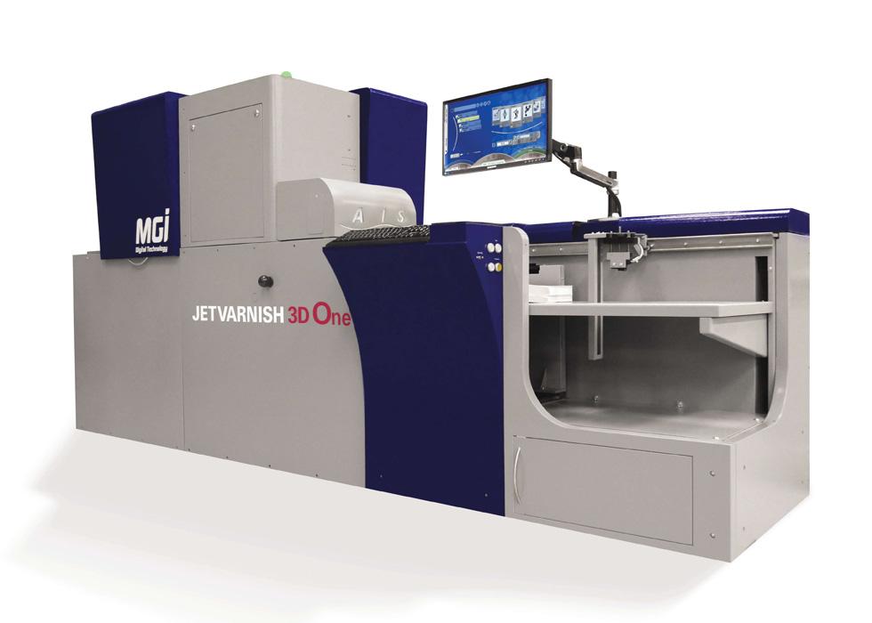 MGI Jet Varnish 3D One